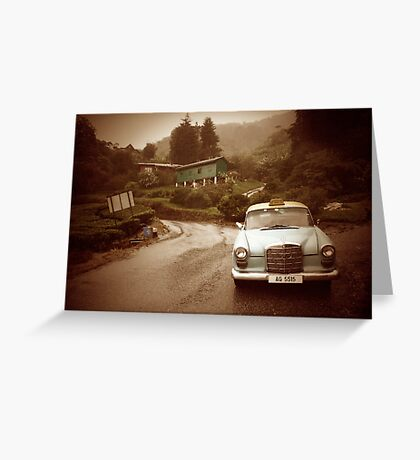Time Traveller Greeting Card