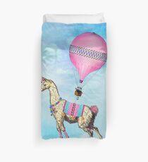 Flying Llama Duvet Cover