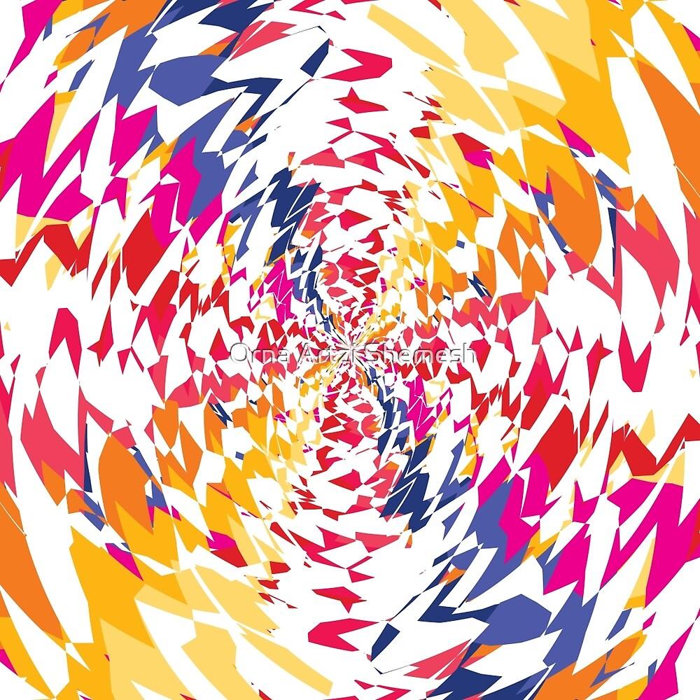 Colour Mix by Orna Artzi Shemesh