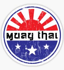 Muay Thai Japan Sticker