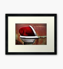Nothing But the Taillight Framed Print