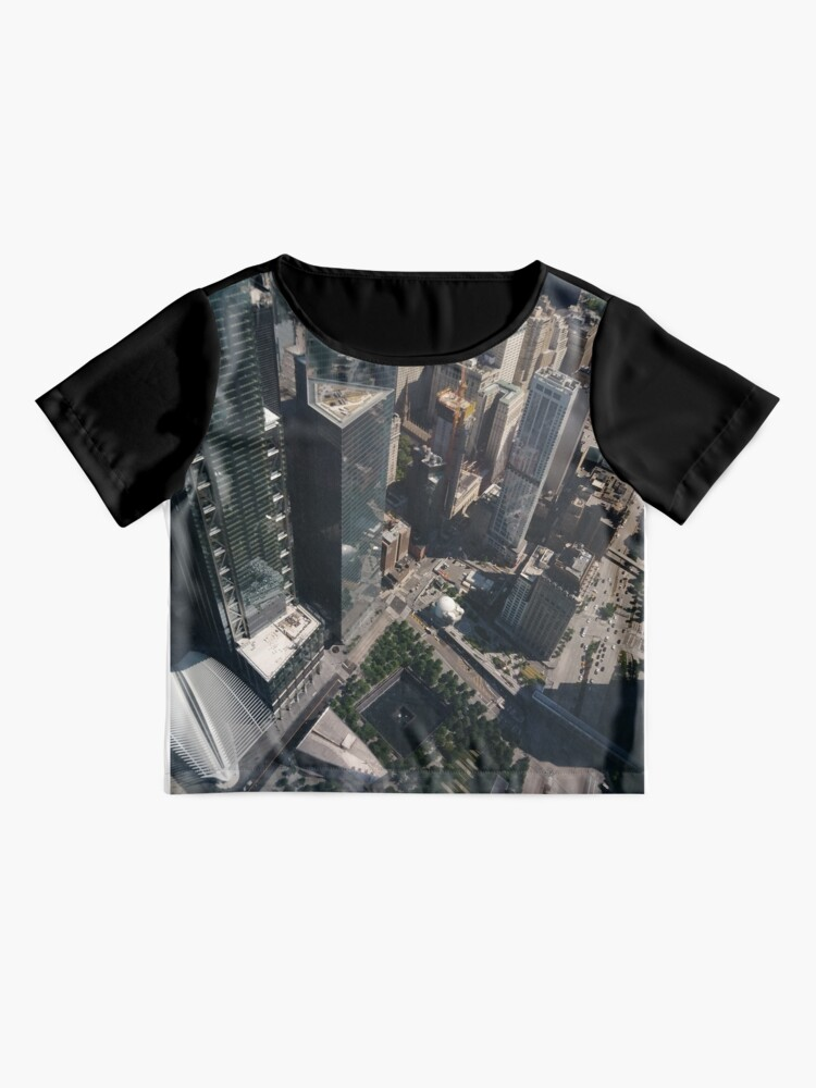 Alternate view of Manhattan, New York City, downtown, #Manhattan, #NewYorkCity, #downtown,  Chiffon Top