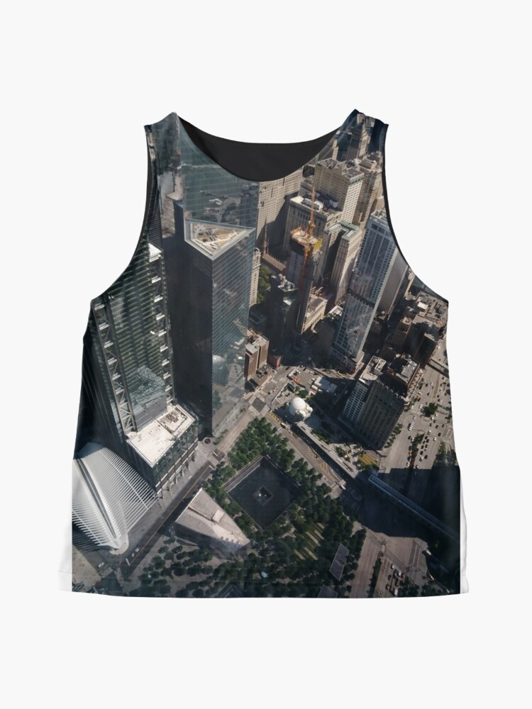 Alternate view of Manhattan, New York City, downtown, #Manhattan, #NewYorkCity, #downtown,  Sleeveless Top