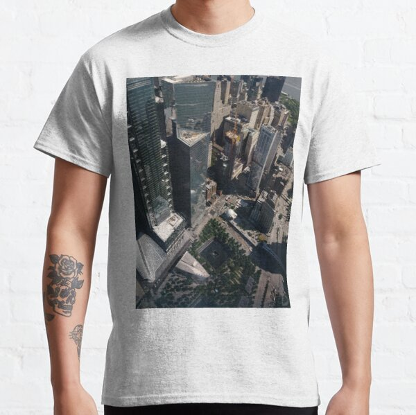 Manhattan, New York City, downtown, #Manhattan, #NewYorkCity, #downtown, Classic T-Shirt