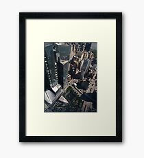 Manhattan, New York City, downtown, #Manhattan, #NewYorkCity, #downtown,  Framed Print