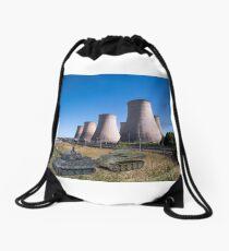 Symbols of Power Drawstring Bag