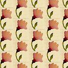 Peach Rose by Helen Dannelly