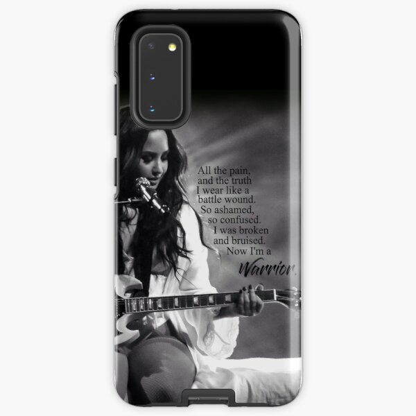 "Demi Lovato ""Warrior"" (Better fit for phone cases) Samsung Galaxy Tough Case"