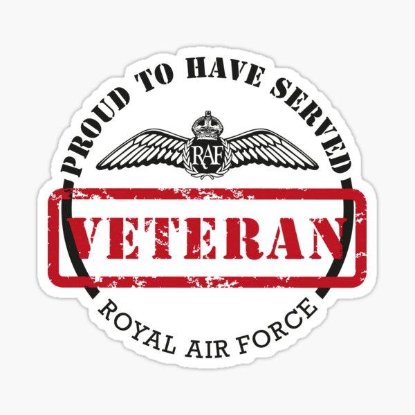 PTHS RAF Veteran Large  Sticker