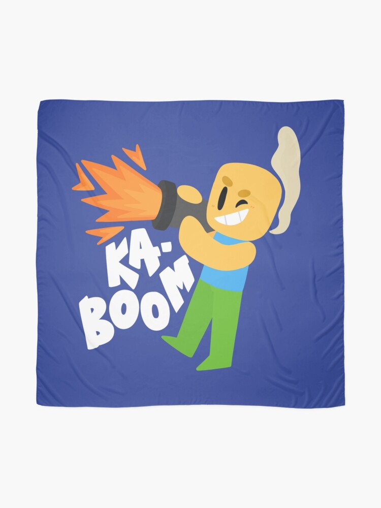 Kaboom Roblox Inspired Animated Blocky Character Noob T Shirt