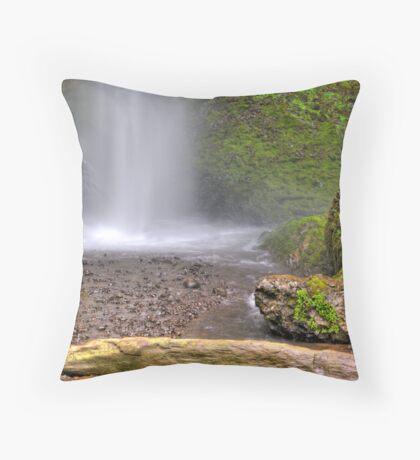 Laturell Falls Bottom Throw Pillow