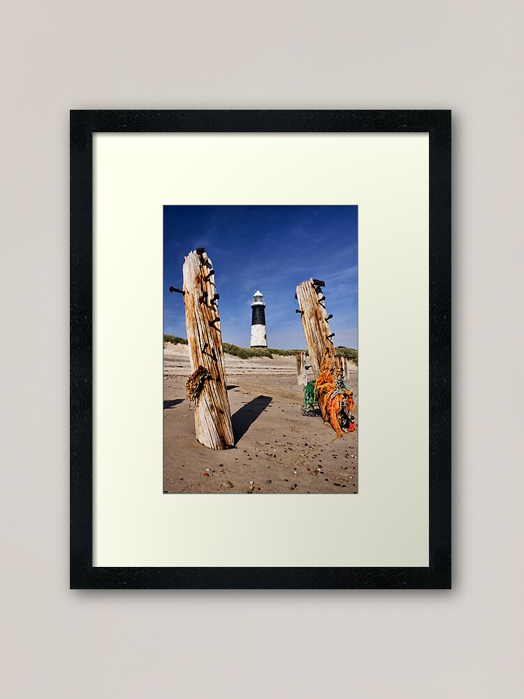 Alternate view of Spurn Point Lighthouse Framed Art Print