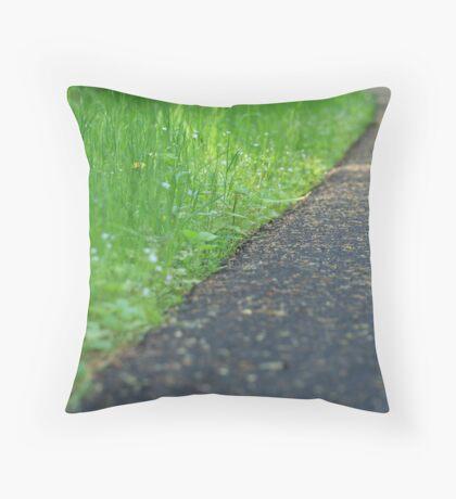 Nature Path Throw Pillow