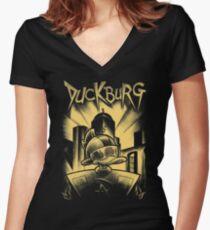 Gizmopolis Women's Fitted V-Neck T-Shirt