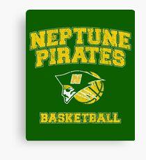 Neptune High School Pirates Basketball Canvas Print