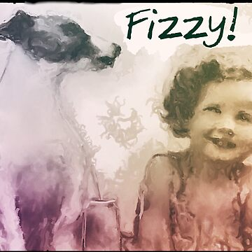 Fizzy - Dog and little girl by Artyteeslondon