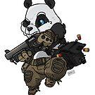 Monium the Panda by hiwez