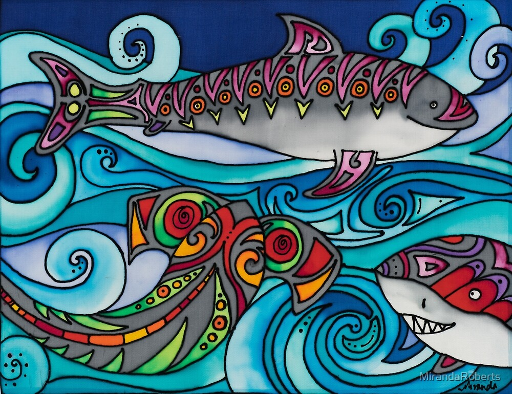 A Shiver of Sharks by MirandaRoberts