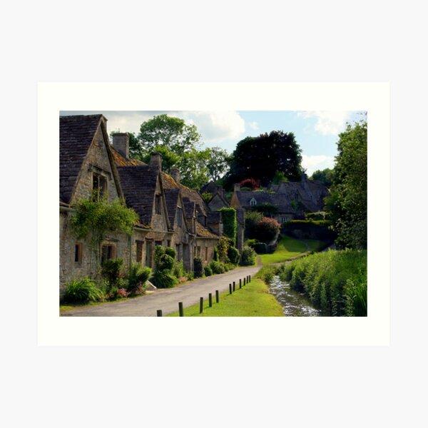 Cotswold Village Art Print