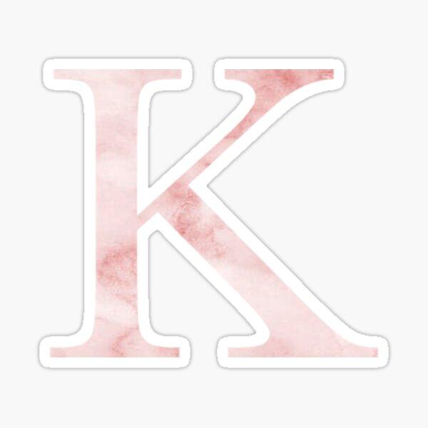 Pink Marble K Pegatina