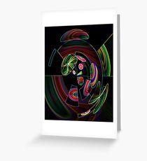 Quixotic Rainbow Grußkarte