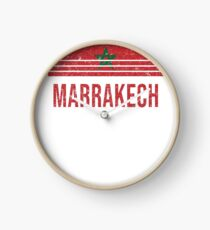 Marrakech Vacation Souvenir Clock