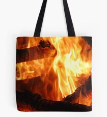 Winter's Warmth Tote Bag