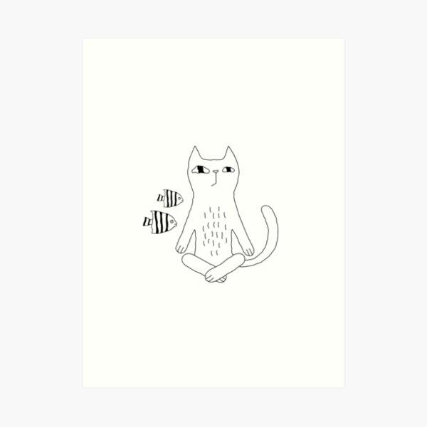 Catvana Art Print