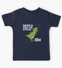 T Rex Reach For The Stars . . . Oh Kids Tee