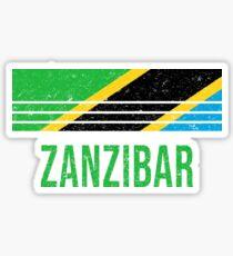 Zanzibar Vacation Souvenir Sticker