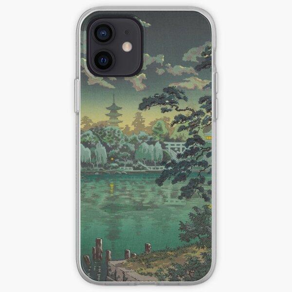 Tsuchiya Koitsu Ueno Shinobazu Pond Art iPhone Soft Case