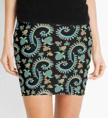 Tribal Turtles Mini Skirt