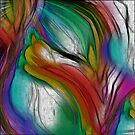 EMERGING TULIP ABSTRACT by PopArtdiva