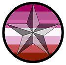 Lone Star Lesbian Pride! by Sun Dog Montana