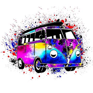 Campervan Fans Vee Dubya by PeterTheArtist
