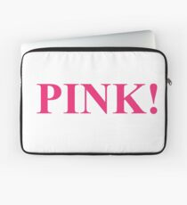 A Study In Pink Laptop Sleeve