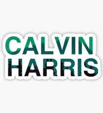 Calvin Harris Sticker