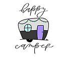 glücklicher Camper von KBLettering