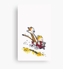 get happy with friends Canvas Print