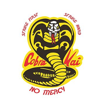 Cobra kai Karate Kid - Strike First - Strike Hard - No Mercy by landobry