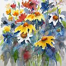 Floral Symphony by bevmorgan