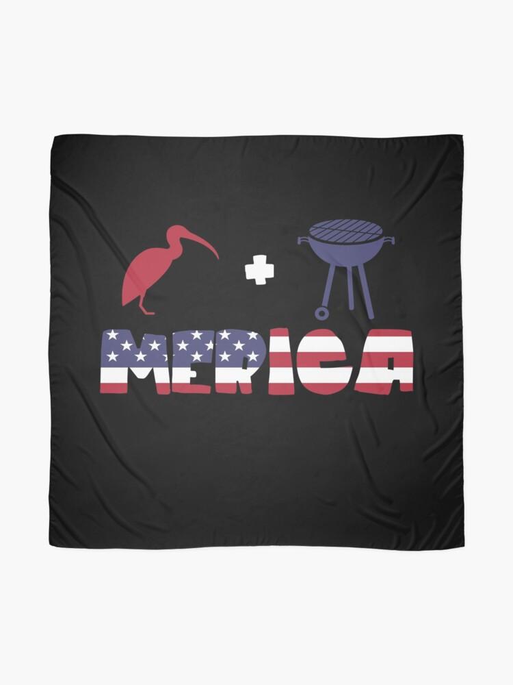 Vista alternativa de Pañuelo Curlew plus Barbeque Merica American Flag