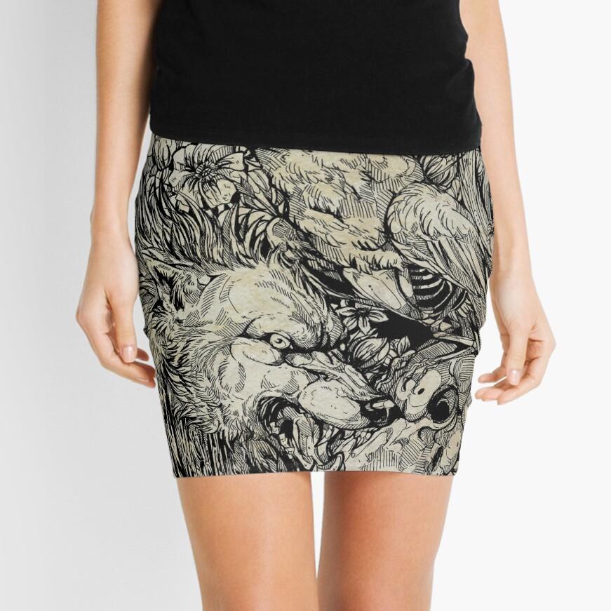 Do Us Part Mini Skirt