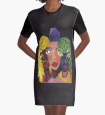 TRIO Graphic T-Shirt Dress
