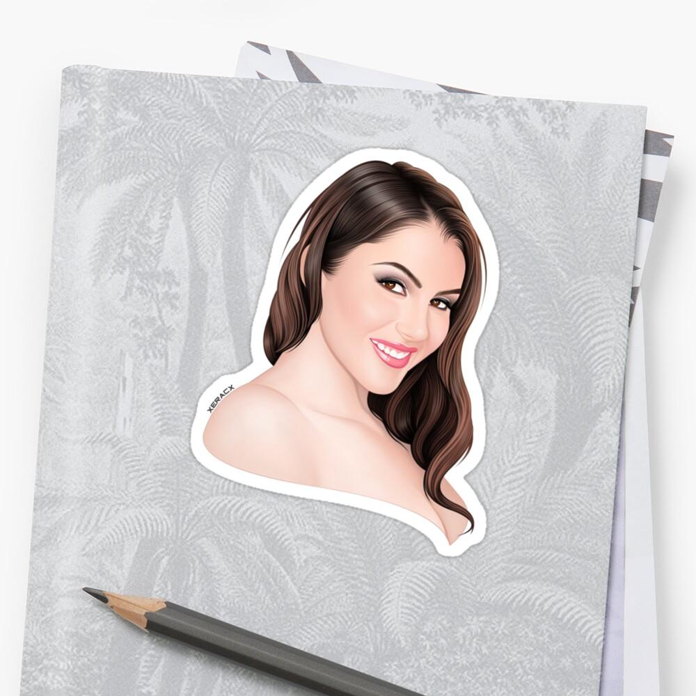 Valentina Nappi Portrait Xeracx By Xeracx