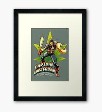 Captain Amsterdam Framed Print