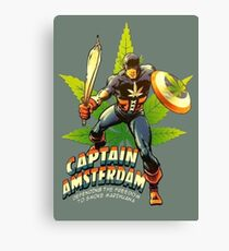 Captain Amsterdam Canvas Print