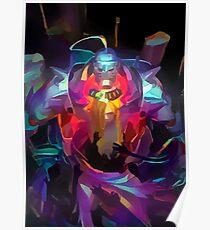 Neon Elric Brothers Poster
