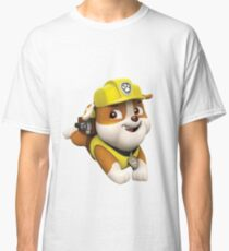 Rubble on the Double - Paw Patrol Classic T-Shirt