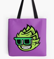 cool smiling brewing mascot Tote Bag